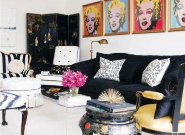Thiết kế phòng khách cho những người yêu phong cách nghệ thuật Pop