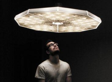 Lung linh bầu trời đầy sao với thiết kế đèn của Jade Doel