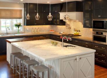 Vẻ đẹp của nội thất màu đen dành cho phòng bếp