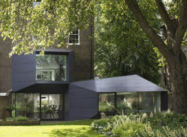 Chiêm ngưỡng ngôi nhà theo phong cách Origami ở London