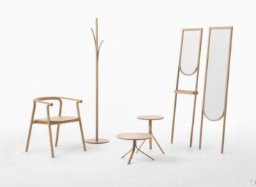 Bộ sưu tập đồ nội thất bằng gỗ Splinter của Nendo