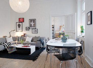 Một căn hộ cổ điển trong không gian nội thất hiện đại