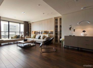 Độc đáo căn hộ với bức tường chuyển động