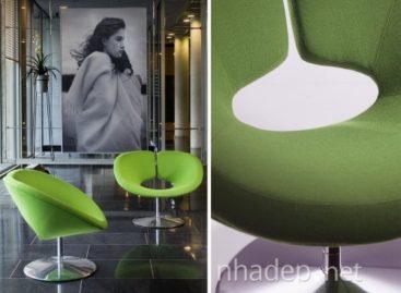 Thiết kế đơn giản và sang trọng của chiếc ghế Apollo