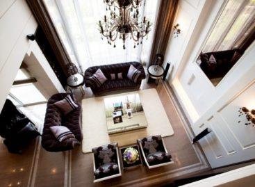 Ngôi nhà sang trọng với nội thất bằng đá thiên nhiên