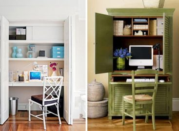 Tận dụng không gian nhỏ hẹp cho góc làm việc hoàn hảo