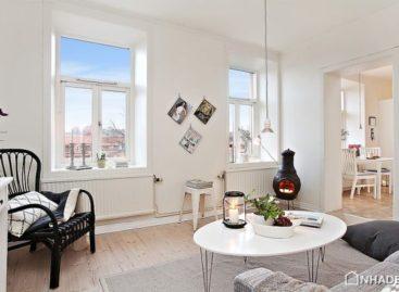 Thiết kế không gian sống nhỏ hẹp trong căn hộ 39m2