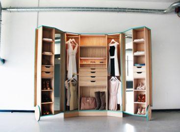 Ấn tượng với tủ quần áo đa năng