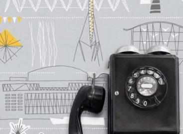 Xinh xắn với giấy dán tường Mini Moderns