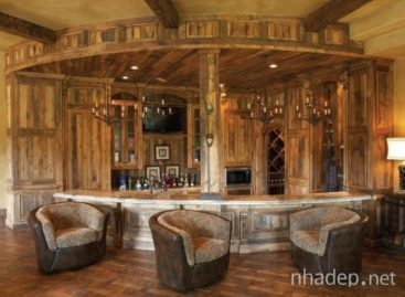 40 ý tưởng thiết kế quầy bar tại gia cho ngôi nhà sành điệu (Phần 1)