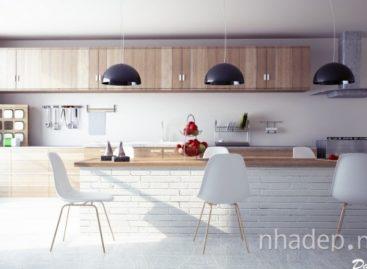 Biến hóa với không gian bếp hiện đại