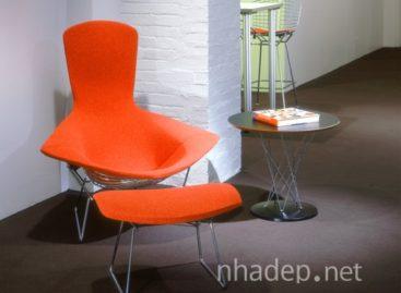 Ngắm nhìn mẫu ghế Bird của nhà thiết kế Harry Bertoia