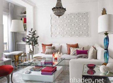 Góc nhà đẹp hơn với phong cách thiết kế ấm cúng rực rỡ