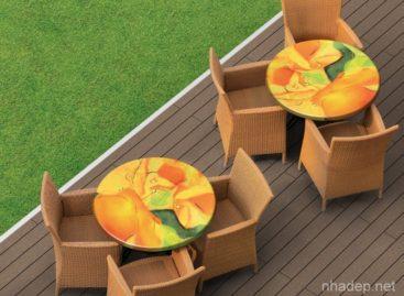 [Sản phẩm đang bán tại Việt Nam] Mặt bàn Werzalit – Thiết kế sắc nét trong từng chi tiết