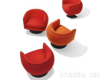 Chiếc ghế D'urso Swivel với phong cách thiết kế tối giản mà sang trọng