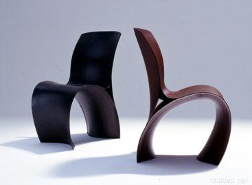 Chiếc ghế gỗ Three Skin độc đáo với công nghệ thiết kế 3D
