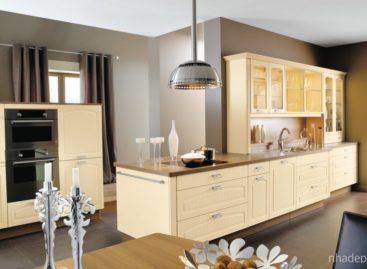 Tinh tế hơn với các mẫu thiết kế nhà bếp hiện đại kiểu Pháp