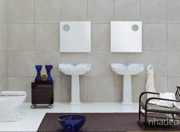 Các mẫu thiết kế phòng tắm hiện đại của Flaminia