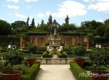 Chiêm ngưỡng những khu vườn mang phong cách Italia