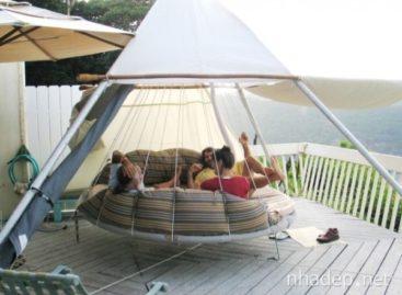 Thư giãn với 29 kiểu giường treo đầy sáng tạo