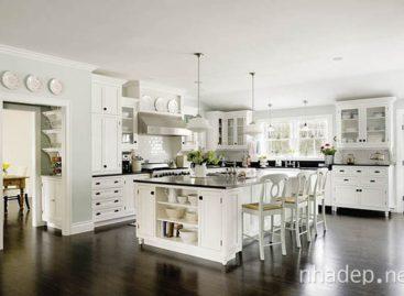Những ý tưởng thiết kế không gian bếp ấm cúng