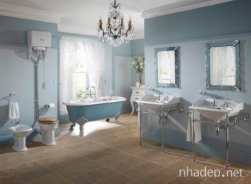 Thiết kế phòng tắm mang phong cách cổ điển