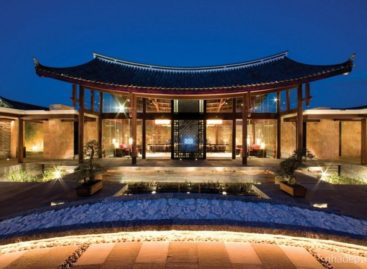 Sự pha trộn giữa kiến trúc truyền thống và hiện đại của resort Banyan Tree Lijiang