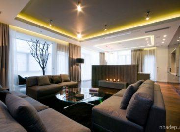 Lối thiết kế sáng tạo và đầy nghệ thuật của căn hộ ở Warsaw