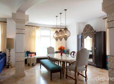 Thiết kế phòng ăn theo phong cách Moroccan