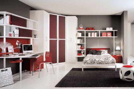 Các mẫu thiết kế phòng ngủ dành cho teen của Tumidei