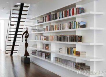 Ý tưởng thiết kế thư viện tại nhà
