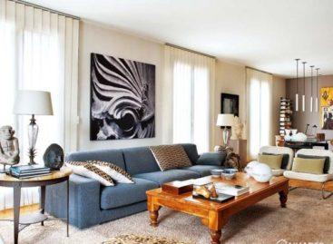 Căn hộ ở Mallorca với nội thất cổ điển
