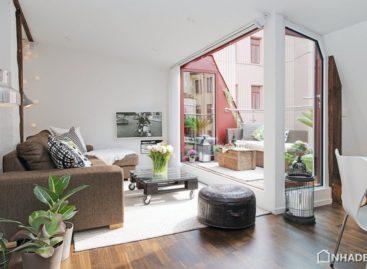 Căn hộ hiện đại với thiết kế nội thất ấn tượng
