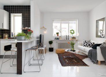 Căn hộ mang phong cách thiết kế vùng Scandinavia ở Gothenburg