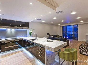 12 thiết kế nhà bếp với bóng đèn neon