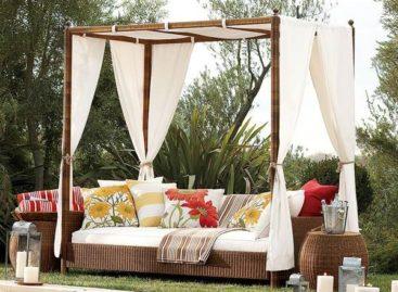 Những mẫu thiết kế giường sofa tuyệt đẹp cho không gian ngoại thất