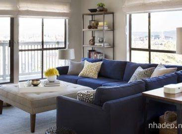 15 mẫu phòng khách sang trọng với xu hướng xanh