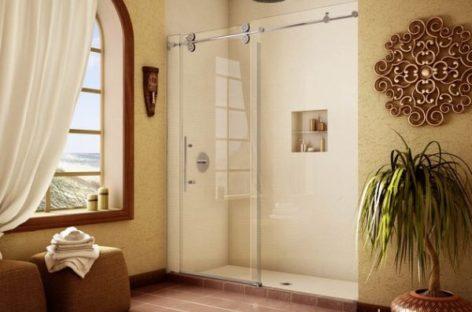 Thiết kế cửa trượt cho phòng tắm