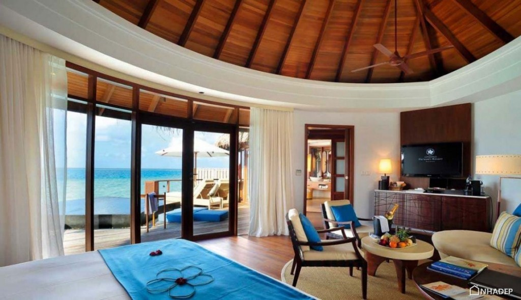 Resort Halaveli Maldives sang trong_17