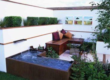 Trang trí sân vườn theo phong cách hiện đại (Phần 4)