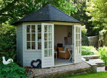 10 kiểu thiết kế Summer House độc đáo cho sân vườn
