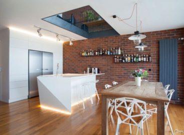 Sự kết hợp giữa kiến trúc công nghiệp và lối thiết kế hiện đại của căn nhà Cornlofts Triplex