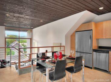 Không gian sống trong căn nhà Mount Baker