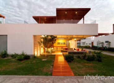 Kiến trúc đẹp với lối thiết kế đương đại hòa hợp cùng thiên nhiên