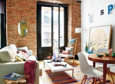 Thiết kế nội thất kết hợp đa phong cách ở Madrid