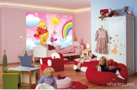 Khám phá thế giới hoạt hình qua 15 mẫu phòng ngủ dành cho những cô công chúa nhỏ