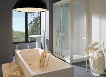 Bộ sưu tập các mẫu cabin phòng tắm hiện đại của Kos