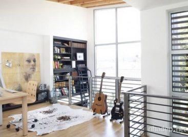 Ý tưởng thiết kế phòng Art Studio tại gia