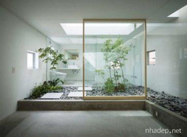 Ý tưởng thiết kế sân nắng ngay trong nhà