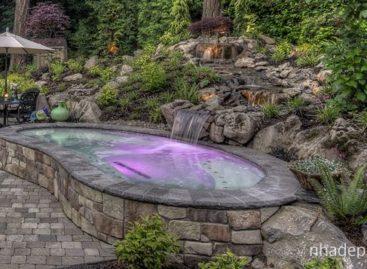 Những ý tưởng thiết kế tiểu cảnh nước cho sân vườn